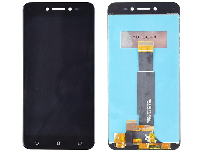 Дисплей RocknParts для ASUS ZenFone Live ZB501KL в сборе с тачскрином Black 745607