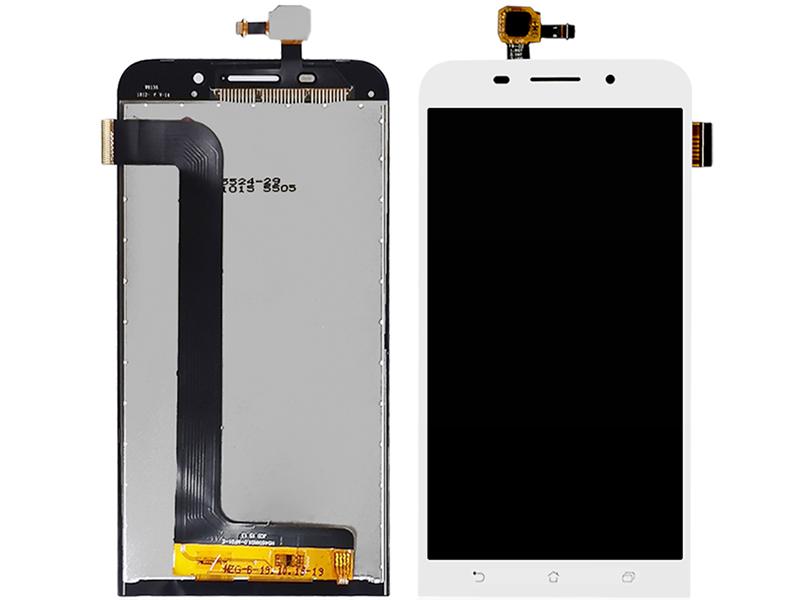 Дисплей RocknParts для ASUS ZenFone Max ZC550KL в сборе с тачскрином White 745597 дисплей rocknparts для asus zenfone 3 ze552kl в сборе с тачскрином white 745568