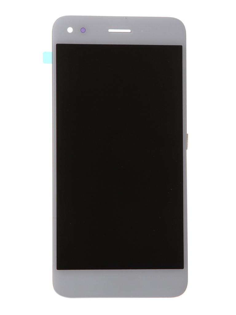 Фото - Дисплей RocknParts для Huawei Y7 Prime 2018 в сборе с тачскрином White 586849 дисплей zeepdeep premium для apple iphone 7 rp white в сборе с тачскрином 721270