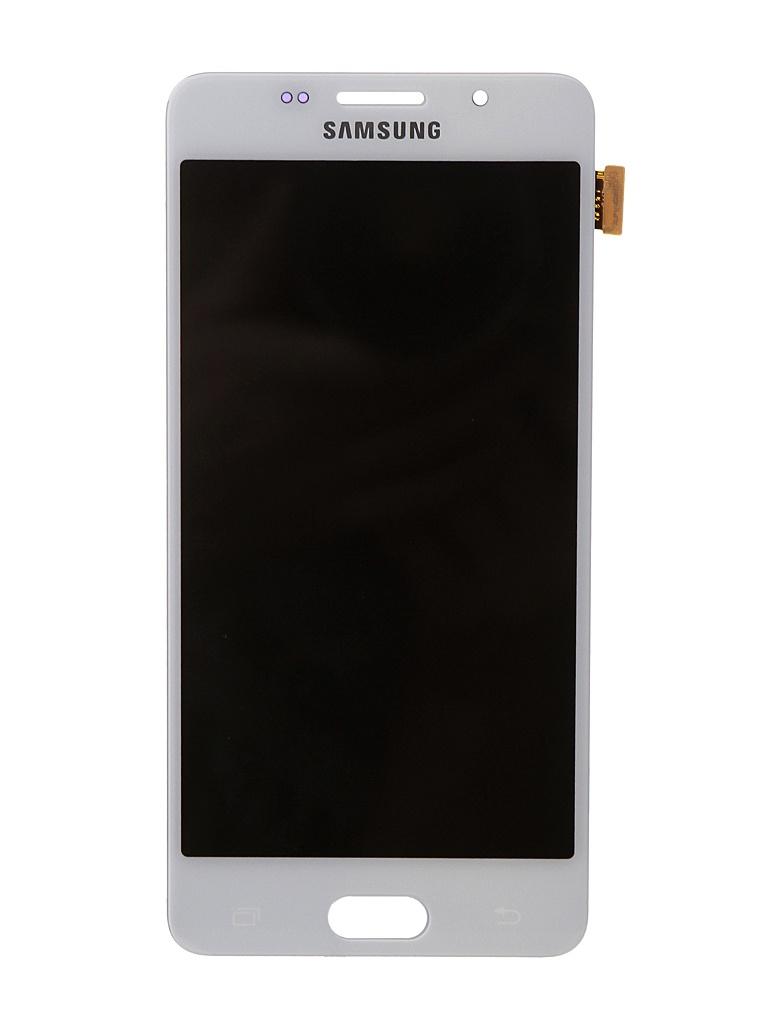 Дисплей RocknParts для Samsung Galaxy A5 SM-A510F (2016) Oled в сборе с тачскрином White 743368 защитная плёнка для samsung galaxy a5 2016 sm a510f front
