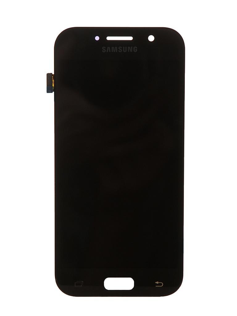 Дисплей RocknParts для Samsung Galaxy A5 SM-A520F (2017) Oled в сборе с тачскрином Black 743371