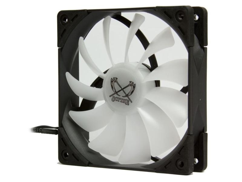 Вентилятор Scythe Kaze Flex 120mm ARGB PWM Fan 300-1200 rpm KF1225FD12AR-P