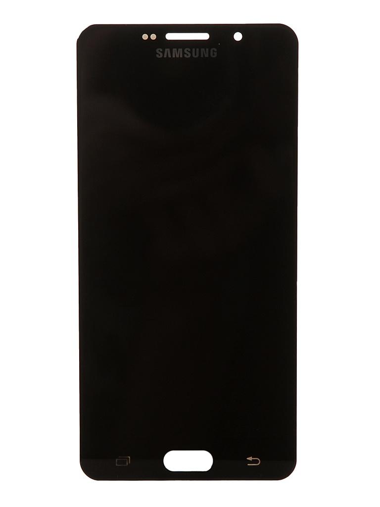 Дисплей RocknParts для Samsung Galaxy A7 SM- A710F (2016) Oled в сборе с тачскрином Black 743372