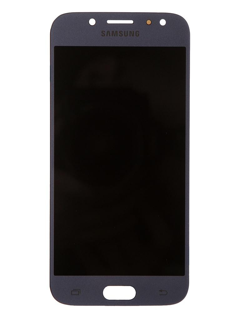 Дисплей RocknParts для Samsung Galaxy J5 SM-J530F (2017) Oled в сборе с тачскрином Light Blue 743386