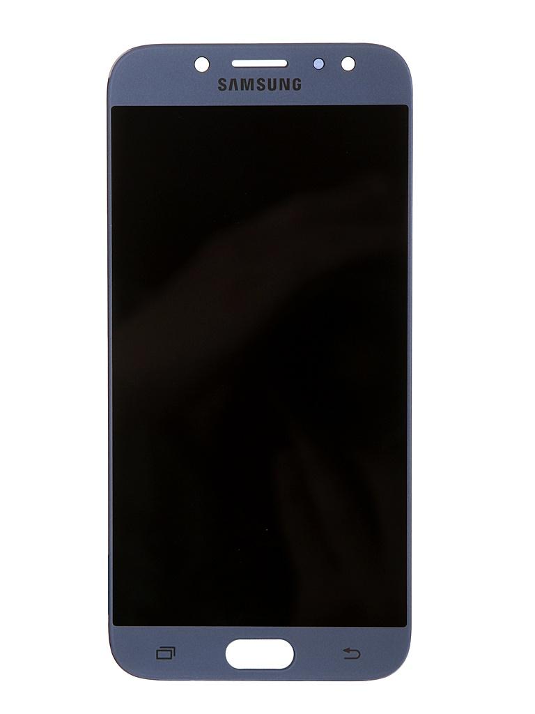 Дисплей RocknParts для Samsung Galaxy J7 SM-J730F (2017) Oled в сборе с тачскрином Light Blue 743387