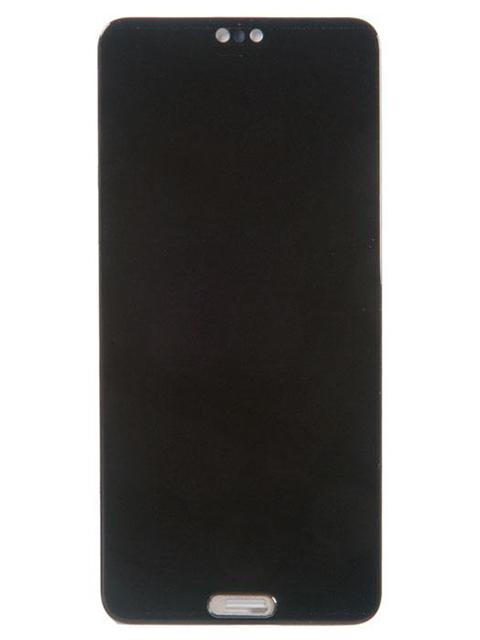 Дисплей RocknParts для Huawei P20 в сборе с тачскрином Black 639593