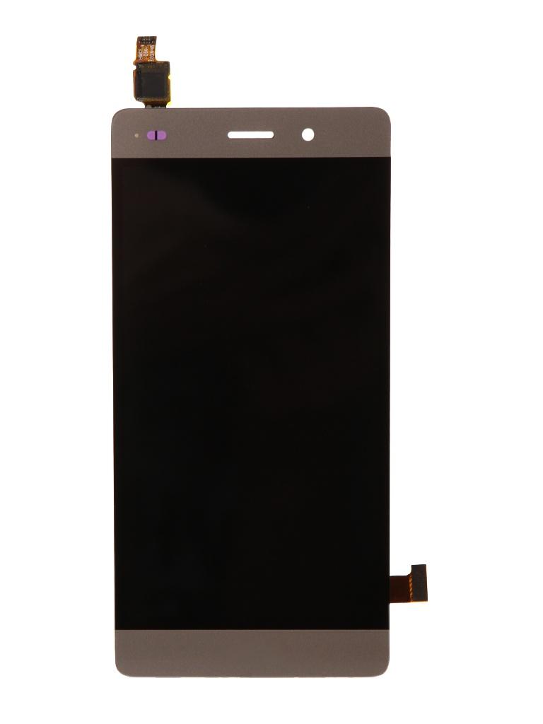 Дисплей RocknParts для Huawei P8 Lite в сборе с тачскрином Gold 441121