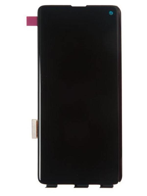 Дисплей RocknParts для Samsung Galaxy S10 SM-G973 Oled в сборе с тачскрином Original Black 687819