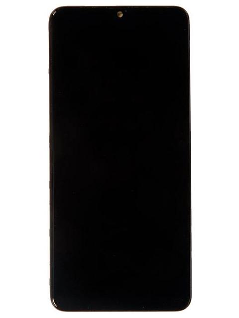 Дисплей RocknParts для Samsung Galaxy A20s SM-A207 в сборе с тачскрином и передней панелью Original Black 716274