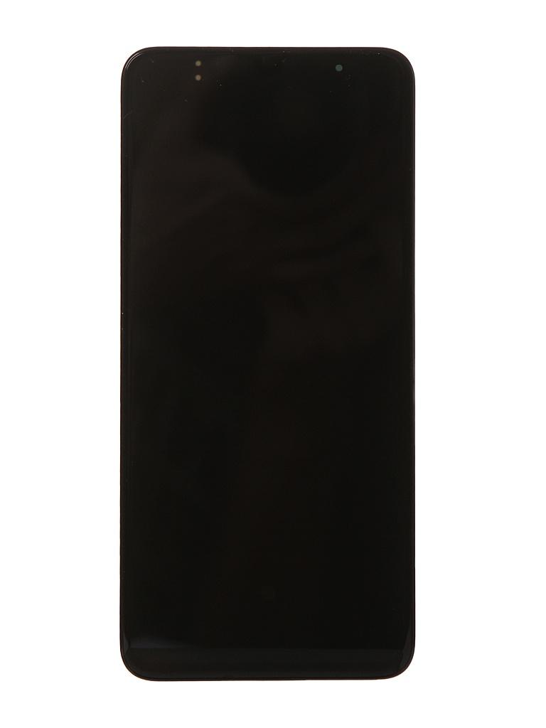Дисплей RocknParts для Samsung Galaxy A70 SM-A705 в сборе с тачскрином и передней панелью Original Black 716275