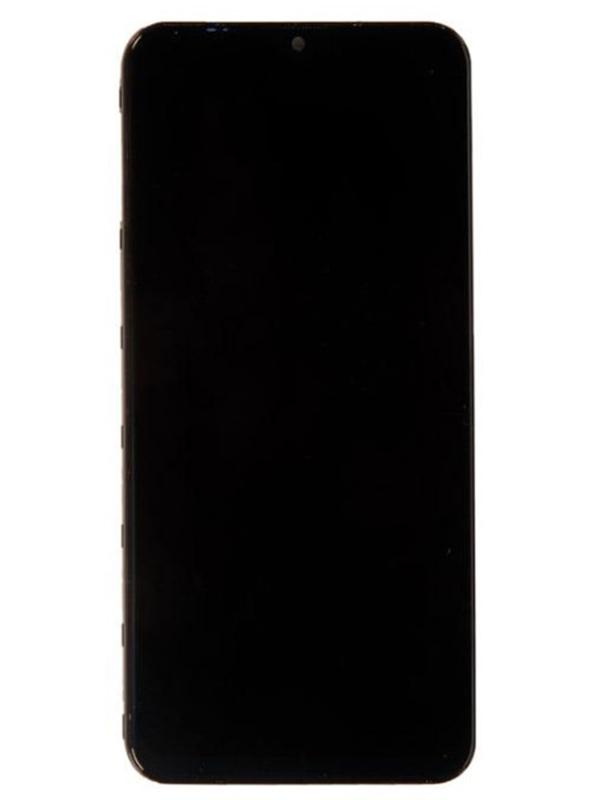 Дисплей RocknParts для Samsung Galaxy M20 SM-M205 в сборе с тачскрином и передней панелью Original Black 716277