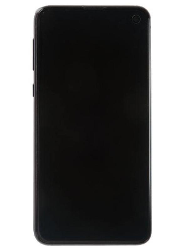 Дисплей RocknParts для Samsung Galaxy S10e G970F в сборе с тачскрином и передней панелью Original Black 687825