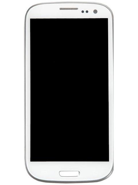 Дисплей RocknParts для Samsung Galaxy S3 GT-I9305 Amoled с тачскрином и передней панелью White 370186