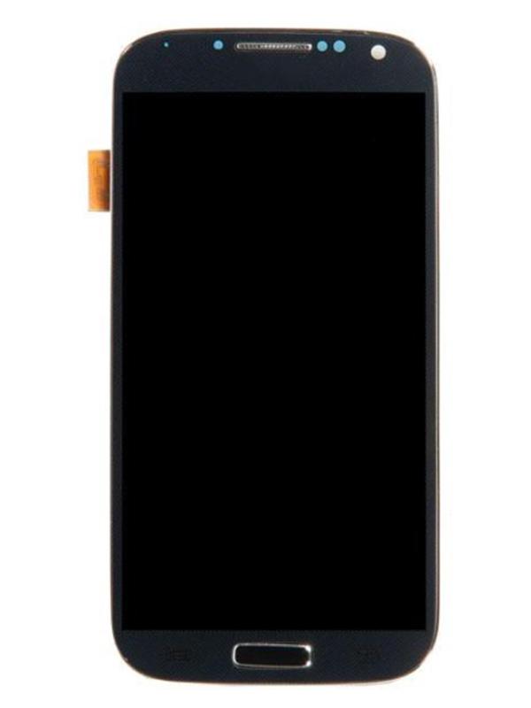 Дисплей RocknParts для Samsung Galaxy S4 GT-I9500 AAA в сборе с тачскрином и передней панелью Black 363694