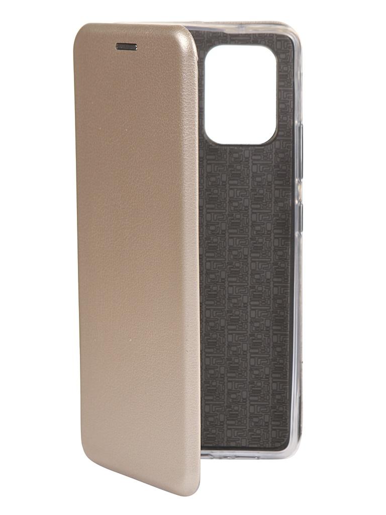 Чехол Zibelino для Samsung Galaxy S10 Lite G770 Book Gold ZB-SAM-S10-LT-GLD