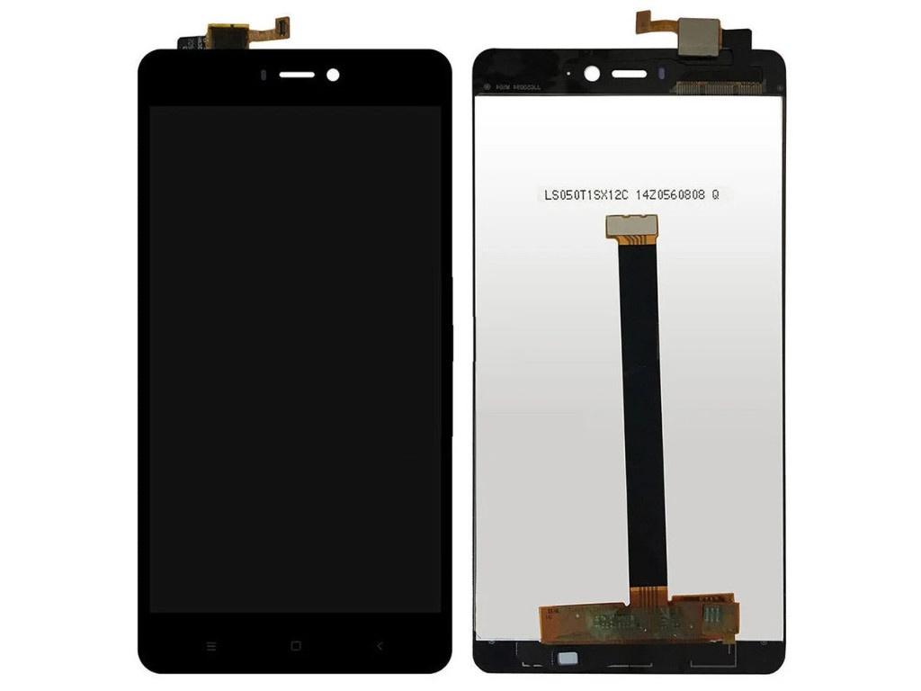 Фото - Дисплей RocknParts для Xiaomi Mi4S в сборе с тачскрином Black 551928 дисплей rocknparts zip для xiaomi mi max 2 black