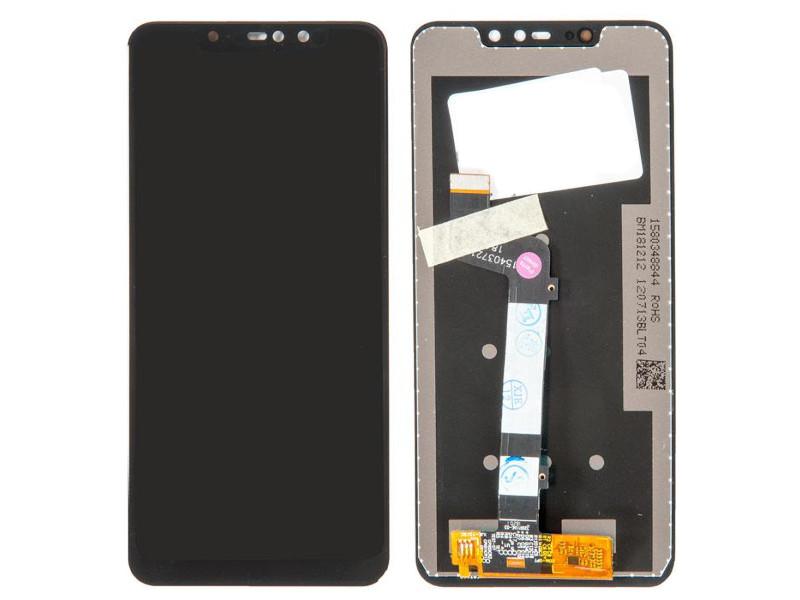 Дисплей RocknParts для Xiaomi Redmi Note 6 Pro в сборе с тачскрином Black 667124