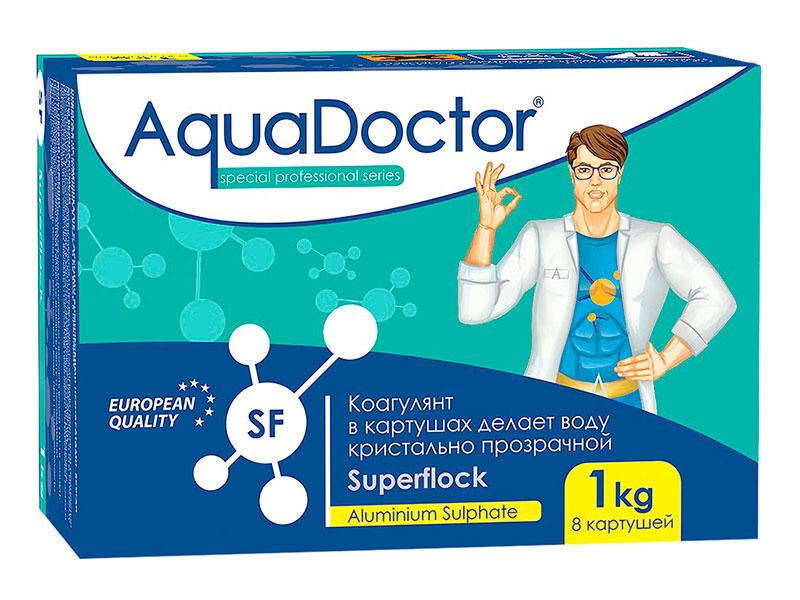 Флокулянт AquaDoctor 1kg AQ2499