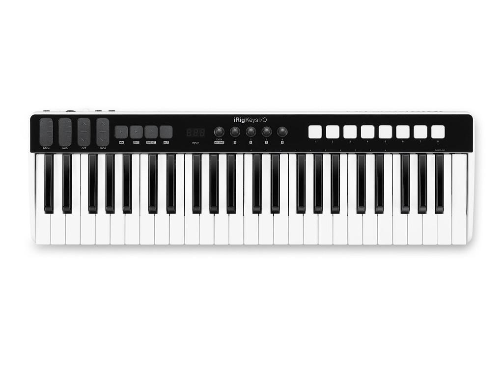 MIDI-клавиатура IK Multimedia iRig Keys I/O 49 IP-IRIG-KEYSIO49-WIA