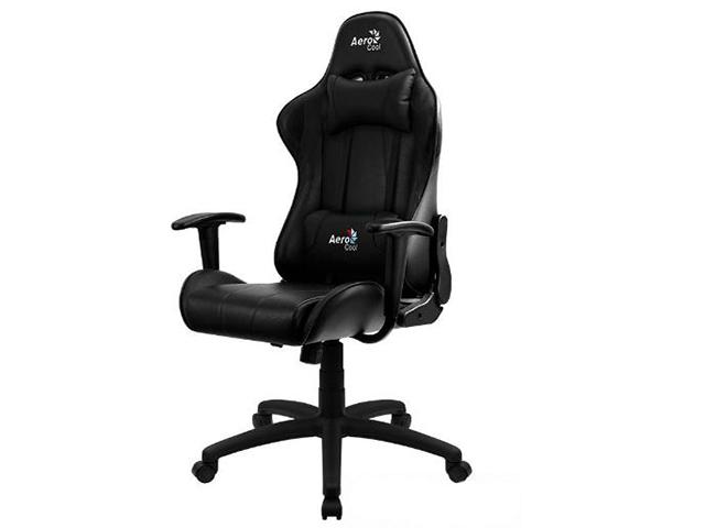 Компьютерное кресло AeroCool AC100 AIR All Black Выгодный набор + серт. 200Р!!! корпус aerocool xpredator x3 evil black edition