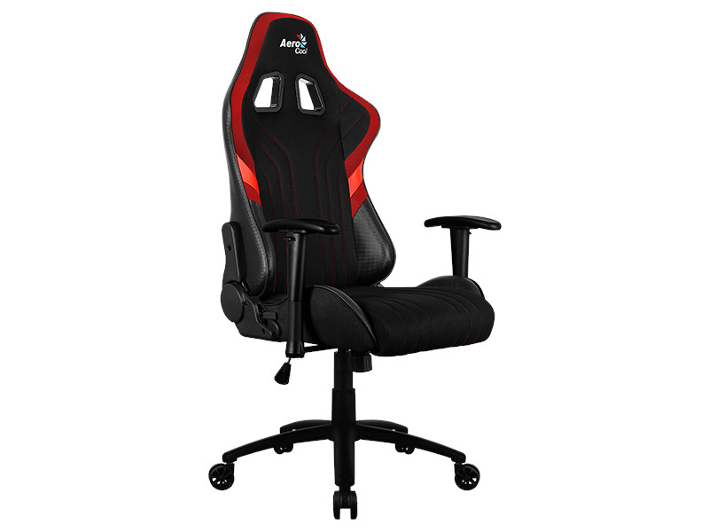Компьютерное кресло AeroCool AERO 1 Alpha Black-Red Выгодный набор + серт. 200Р!!! корпус aerocool xpredator x3 evil black edition