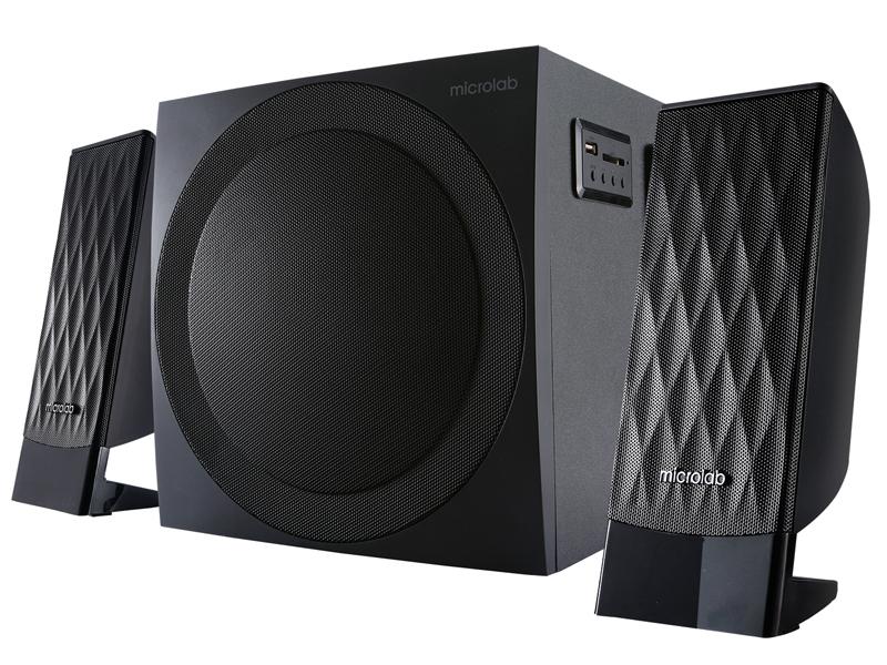 Колонка Microlab M-300BT Black колонка microlab fc 360 black