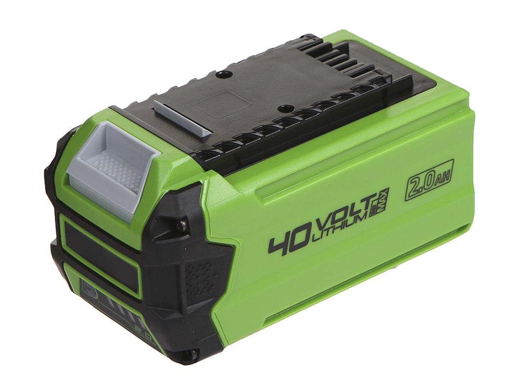 Аккумулятор Greenworks G40B2 40V 2Ah 2926907