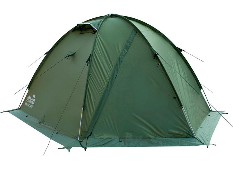 Палатка Tramp Rock 4 V2 Green TRT-29
