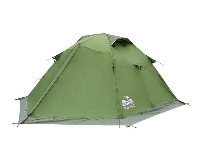 Палатка Tramp Peak 3 V2 Green TRT-26