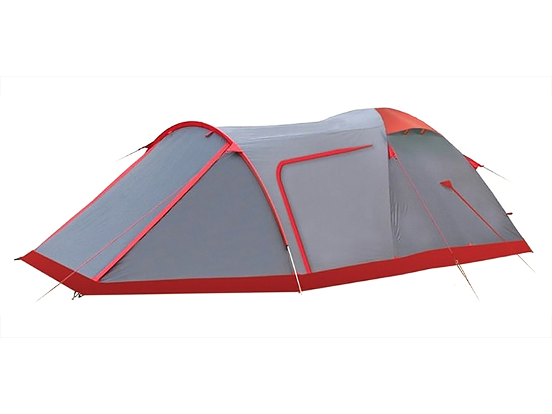 Палатка Tramp Cave 3 V2 Grey TRT-21