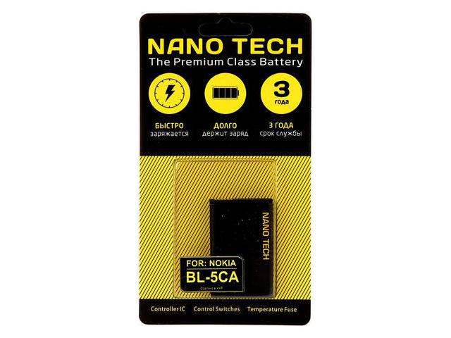 Аккумулятор Nano Tech (схожий с BL-5CA) 700mAh для Nokia 1110