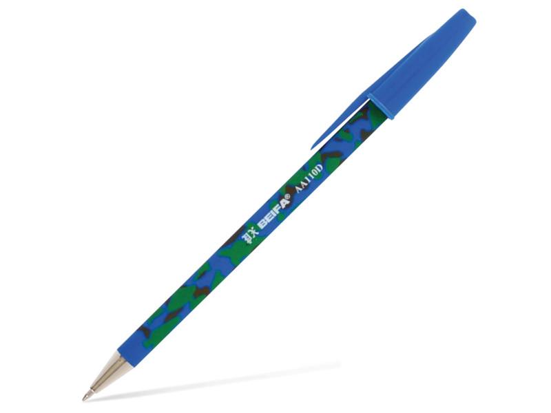 Ручка шариковая Beifa 0.7mm стержень Blue AA110D-BL