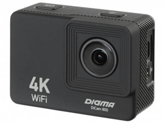 цена на Экшн-камера Digma DiCam 800 Black DC800