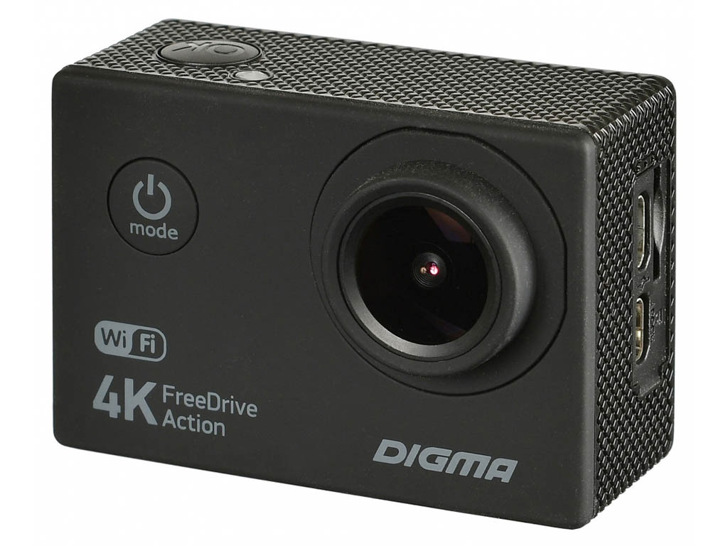Видеорегистратор Digma FreeDrive Action 4K WiFi