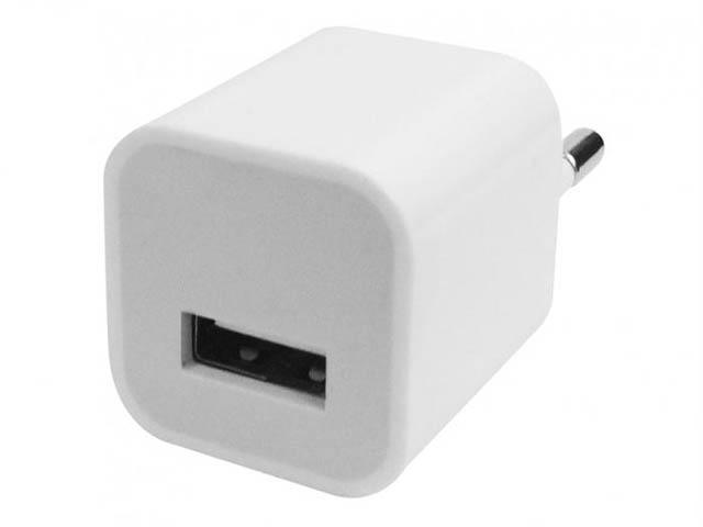 Зарядное устройство CBR Human Friends Solo 220V to USB White