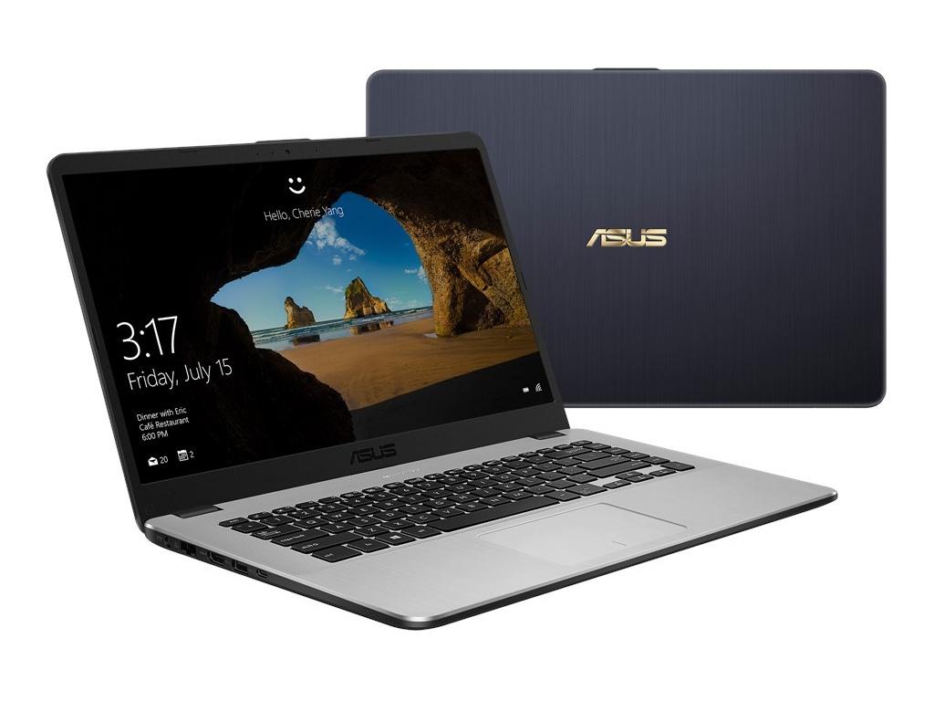 Ноутбук ASUS VivoBook X505ZA-BR227 Dark Grey 90NB0I11-M14170 Выгодный набор + серт. 200Р!!!(AMD Ryzen 3 2200U 2.5 GHz/4096Mb/256Gb SSD/AMD Radeon Vega 3/Wi-Fi/Bluetooth/Cam/15.6/1366x768/Endless OS)