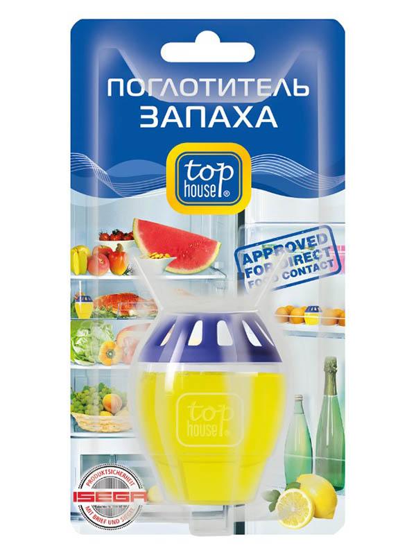 Поглотитель запаха для холодильника Top House Лимон 391848