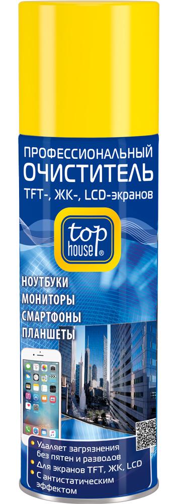 Профессиональный очиститель Top House 200ml для TFT / ЖК LCD экранов 392333