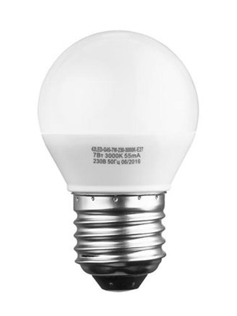 Лампочка Sweko E27 G45 7W 230V 3000K 42LED-G45-7W-230-3000K-E27