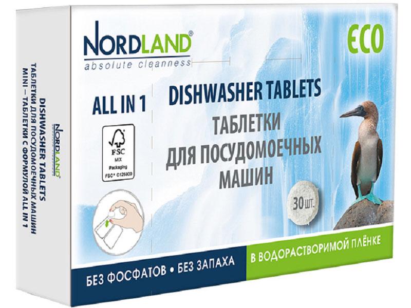 Таблетки для посудомоечных машин Nordland 30шт 393064