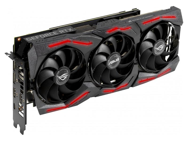 Видеокарта ASUS GeForce RTX 2060 SUPER OC 1470Mhz PCI-E 3.0 8192Mb 14000Mhz 256 bit USB-C 2xDP 2xHDMI ROG-STRIX-RTX2060S-O8G-EVO-GAMING Выгодный набор + серт. 200Р!!!