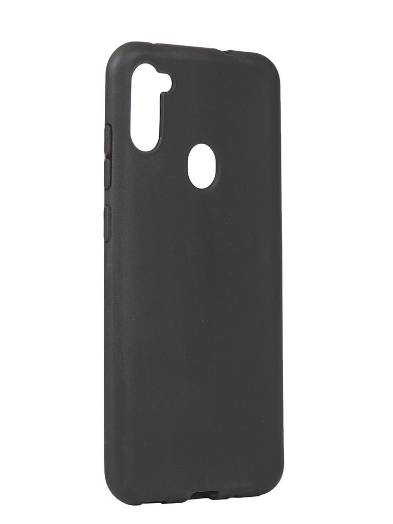 Чехол Liberty Project для Samsung Galaxy M11 Silicone TPU Black 0L-00048837 чехол lp для samsung j5 2017 0l 00035119 черный