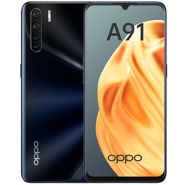Сотовый телефон OPPO A91 8/128GB Black сотовый