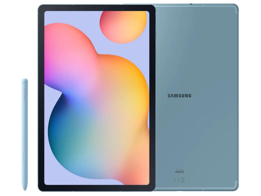 Фото - Планшет Samsung Galaxy Tab S6 Lite 10.4 LTE SM-P615 - 128Gb Light Blue SM-P615NZBESER (Exynos 9611 2.3 GHz/4096Mb/128Gb/GPS/LTE/3G/Wi-Fi/Bluetooth/Cam/10.4/2000x1200/Android) планшет huawei matepad pro 10 8 lte 128gb mrx al09 grey 53010yuy hisilicon kirin 990 2 86 ghz 6144mb 128gb gps lte 3g wi fi bluetooth cam 10 8 2560x1600 android