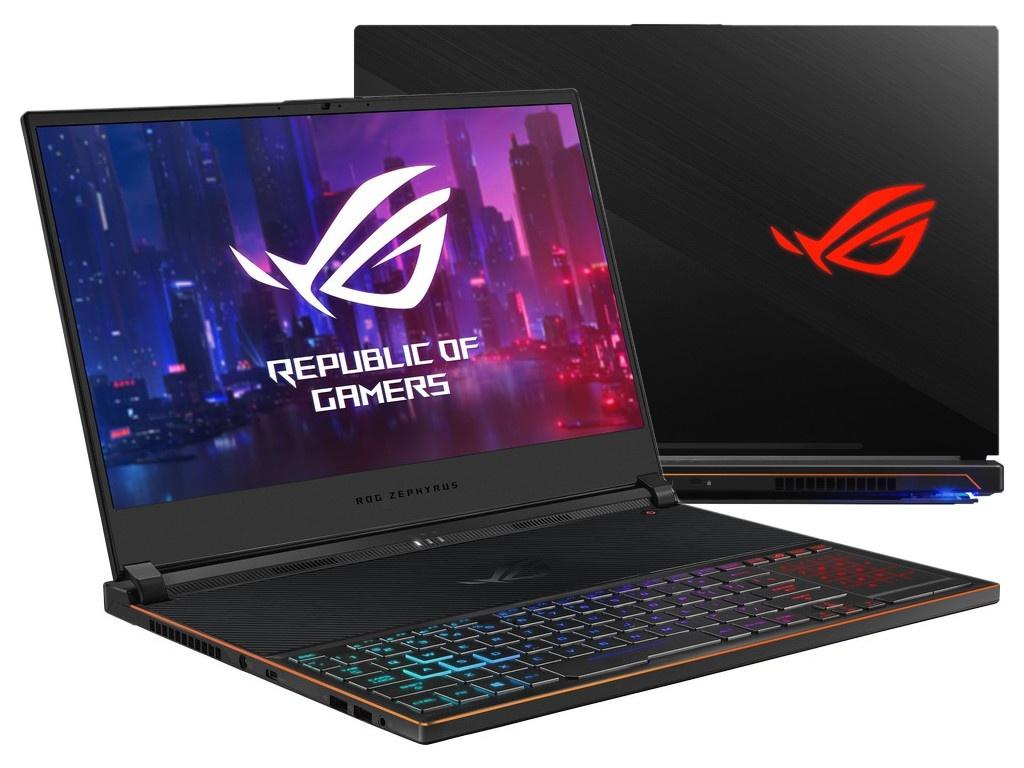 Ноутбук ASUS ROG GX531GM-ES023T Black 90NR0101-M00520 (Intel Core i7-8750H 2.2 GHz/16384Mb/256Gb SSD/nVidia GeForce GTX 1060 6144Mb/Wi-Fi/Bluetooth/Cam/15.6/1920x1080/Windows 10 Home 64-bit)