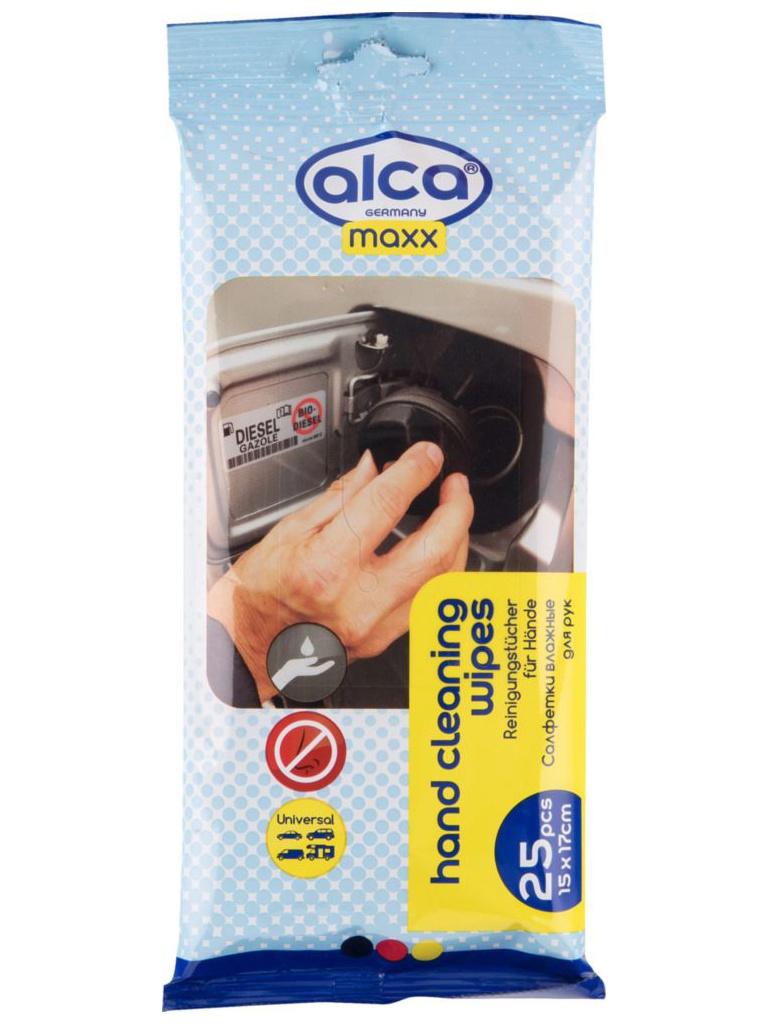 Салфетки влажные для рук Alca Maxx 25шт 810 220