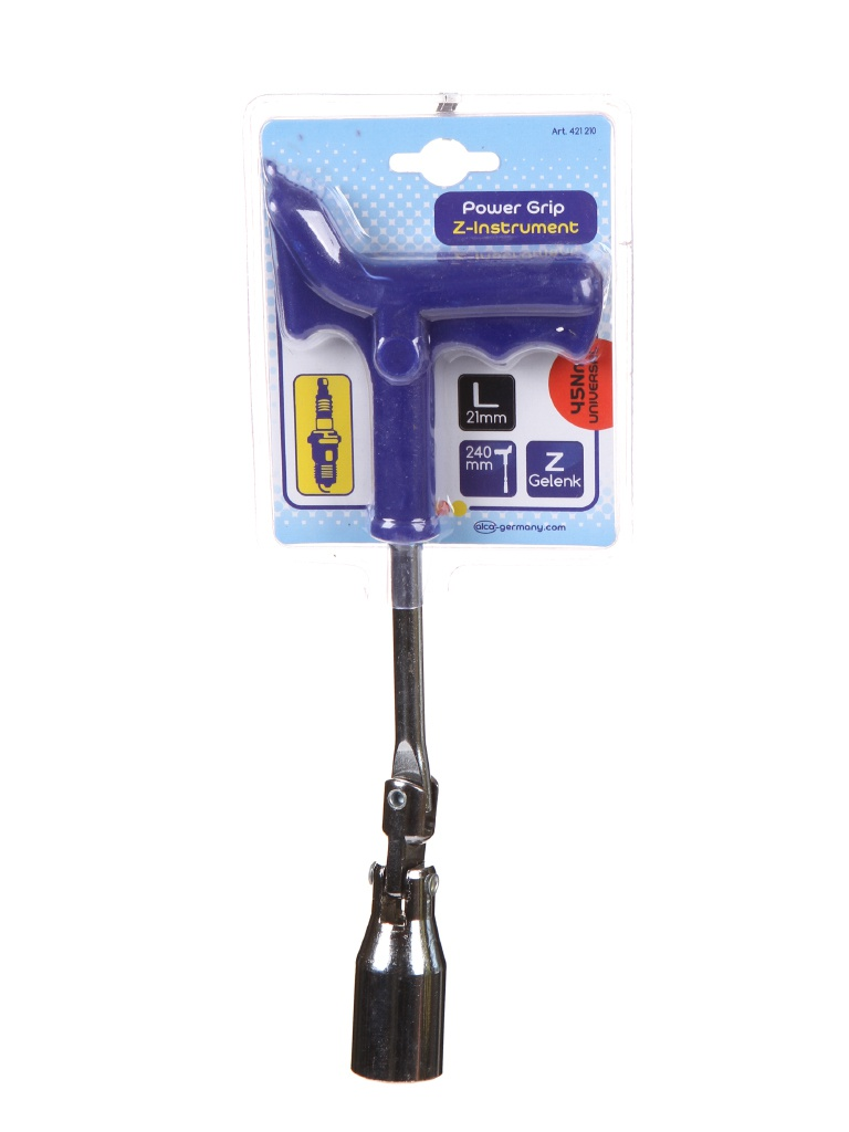 Ключ свечной HEYNER 21mm 421 210