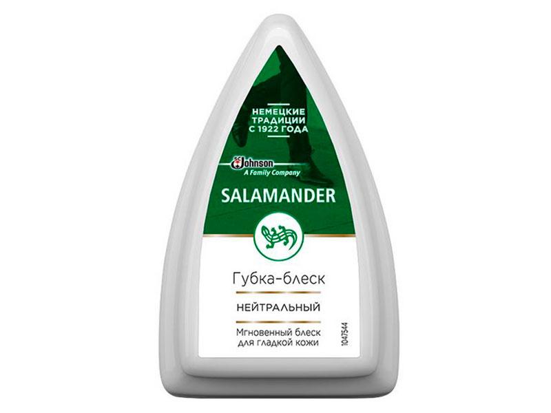 Губка для гладкой кожи Salamander Shoe Shine Colorless 699869
