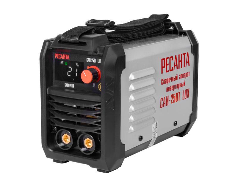 Сварочный аппарат Ресанта САИ-250Т LUX 65/72 сварочный аппарат ресанта саи 220 в кейсе