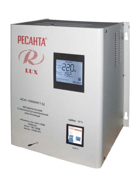 Стабилизатор Ресанта АСН-10000Н/1-Ц Lux 63/6/18